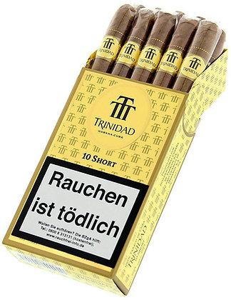 אש טבק סיגרים ועישון תל אביב TRINIDAD סיגרלות מקובה טרינידד שורט