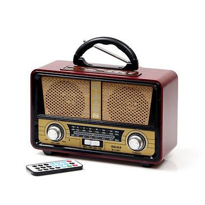 V.X.R מיוזיק בוקס רדיו בלוטות' בעיצוב רטרו | אש סיגרים ומתנות תל אביב
