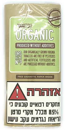 טבק לגלגול מניטו אורגני