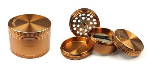 גריינדר שארפסטון 4 חלקים עשוי מאלומיניום צבע זהב