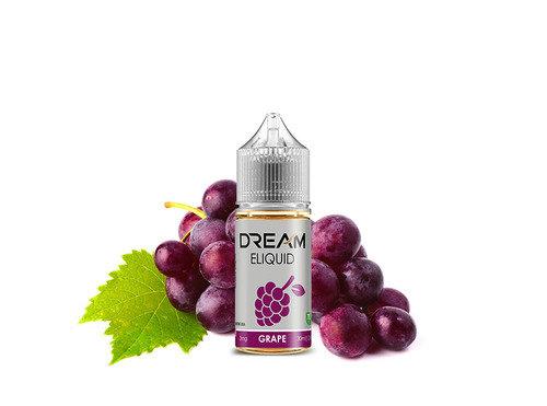 dream נוזל מילוי למכשיר אידוי טעם ענבים