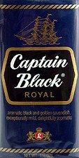 CAPTAIN BLACK טבק למקטרת קפטן בלאק רויאל