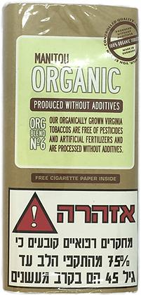 טבק לגלגול עצמי מניטו אורגני