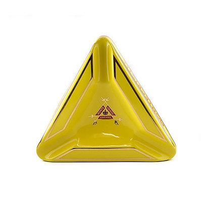 MONTE CRISTO מאפרת פורצלן מונטה קריסטו צבע זהב