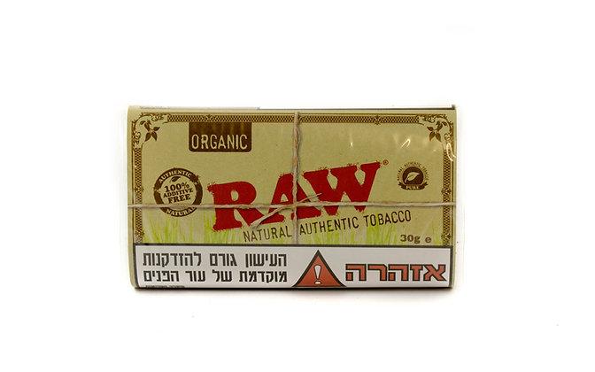 raw טבק לגלגול עצמי  רואו אורגני