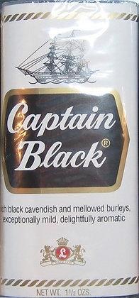 CAPTAIN BLACK טבק למיקטרת קפטיין בלאק לבן | אש טבק