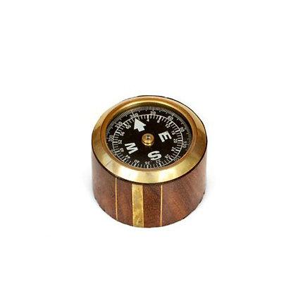 מצפן בעיצוב רטרו בצורת גליל   אש סיגרים