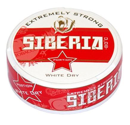 siberia whit dry טבק לעיסה