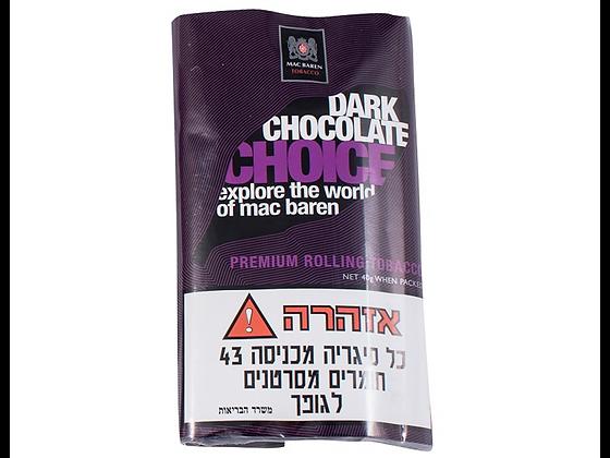 טבק לגלגול עצמי מק בארן דארק שוקולד צויס