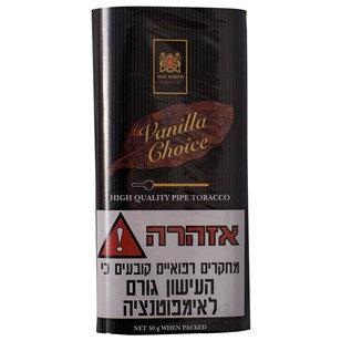 MAC BAREN טבק למקטרת מקבארן וונילה צויס | אש סיגרים