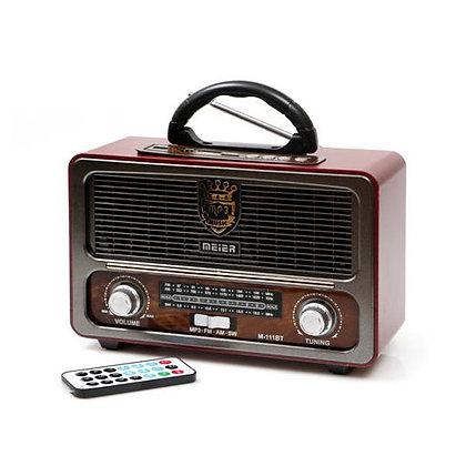 V.X.R נגן מיוזיק בוקס רדיו בלוטות' בעיצוב רטרו | אש סיגרים ומתנות