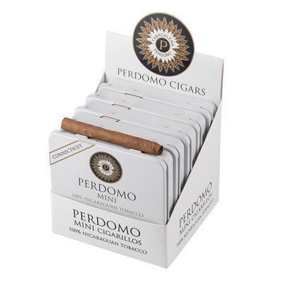 אש טבק עישון וסיגרים תל אביב PERDOMO MINI CONETICET מיני סיגרלות של פרדומו קונטיקט