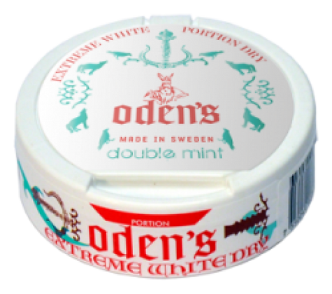 odens double mint טבק לעיסה מיוצר בשבדיה
