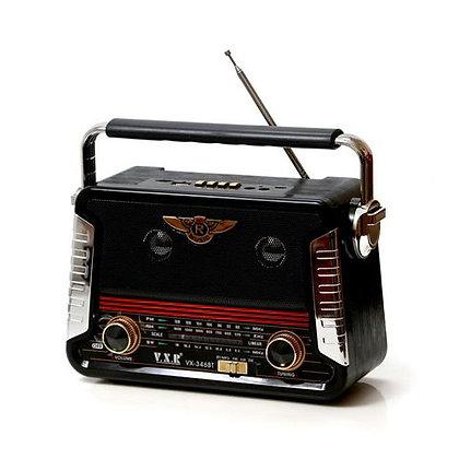 V.X.R מיוזיק בוקס רדיו בלוטות' בעיצוב רטרו | אש סיגרים ומתנות