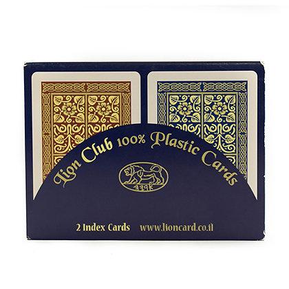 חבילת קלפי משחק איכותיים מפלסטיק