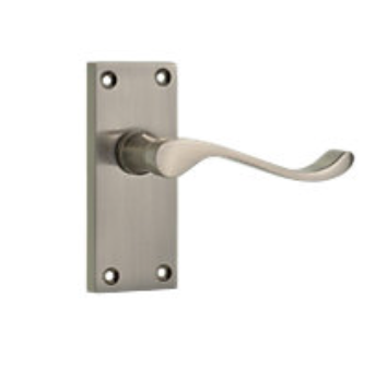 Wickes Satin Nickle Door Handle, affordable door handles