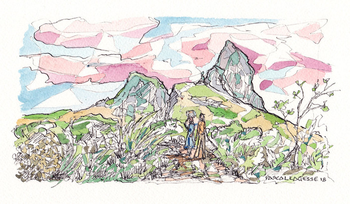 Rempart mountain - 2018