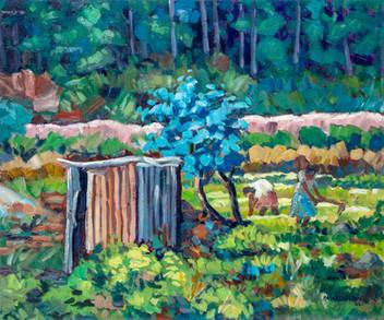 The blue tree - 1998