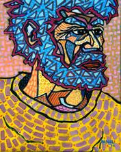 Man with blue beard - 2020