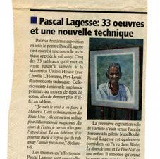 Article L'Express 10 novembre 1998