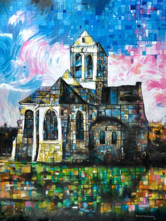 Auver sur Oise church - 2019