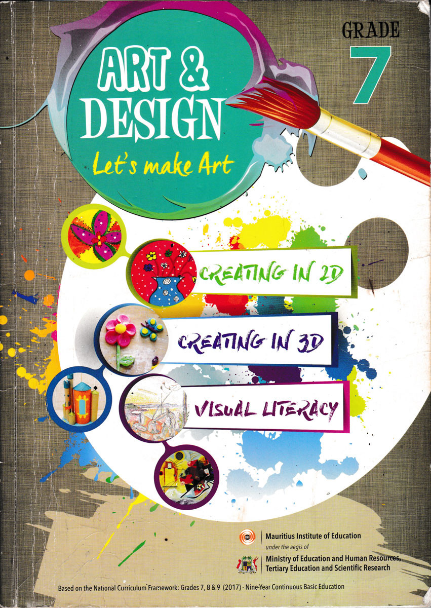 Cover for Art and design book Mauritius