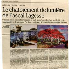 Article L'Express 22 mai 2000