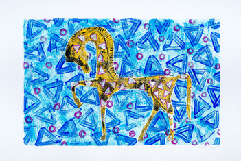 The horse 01