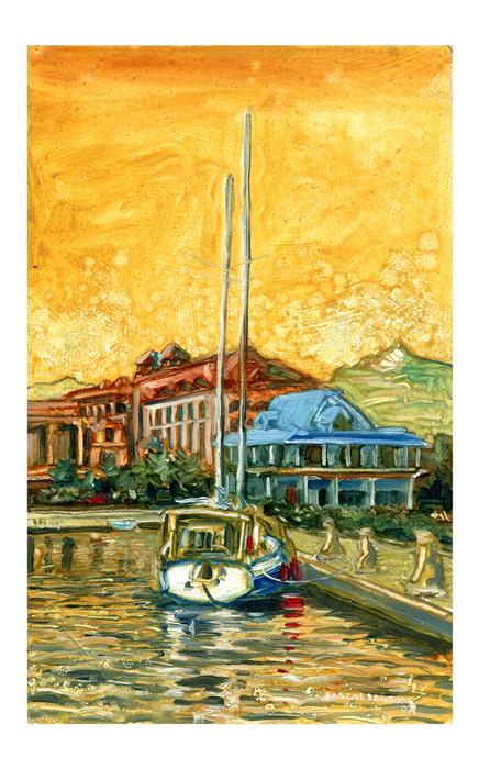 Boat at quay