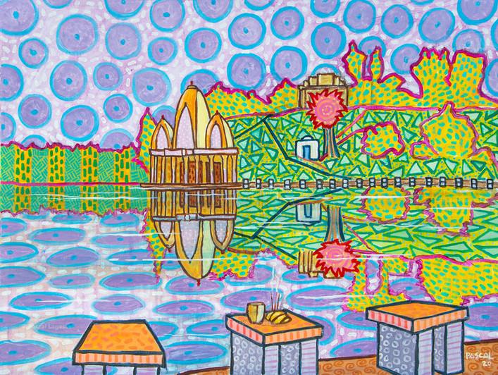 Ganga Talao, Mauritius sacred lake - 2020