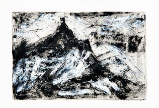 Pieter Both Mountain monochrome