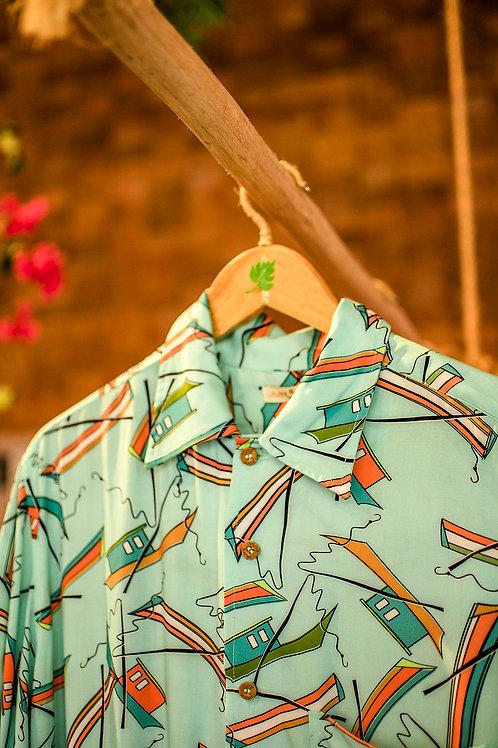camisa pescador acqua