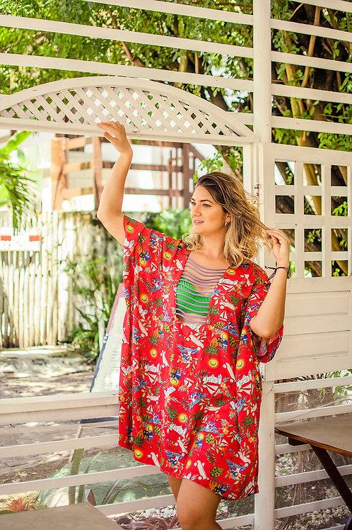 túnica lavanda alegria