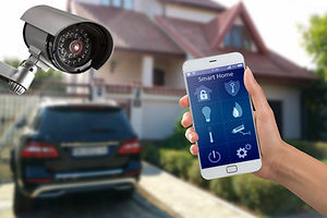 Security camera and smart home app, priv
