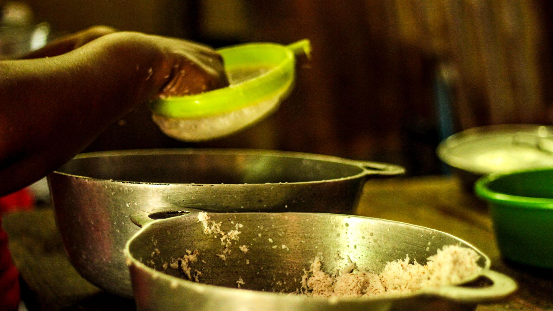 Preparación de la cocina