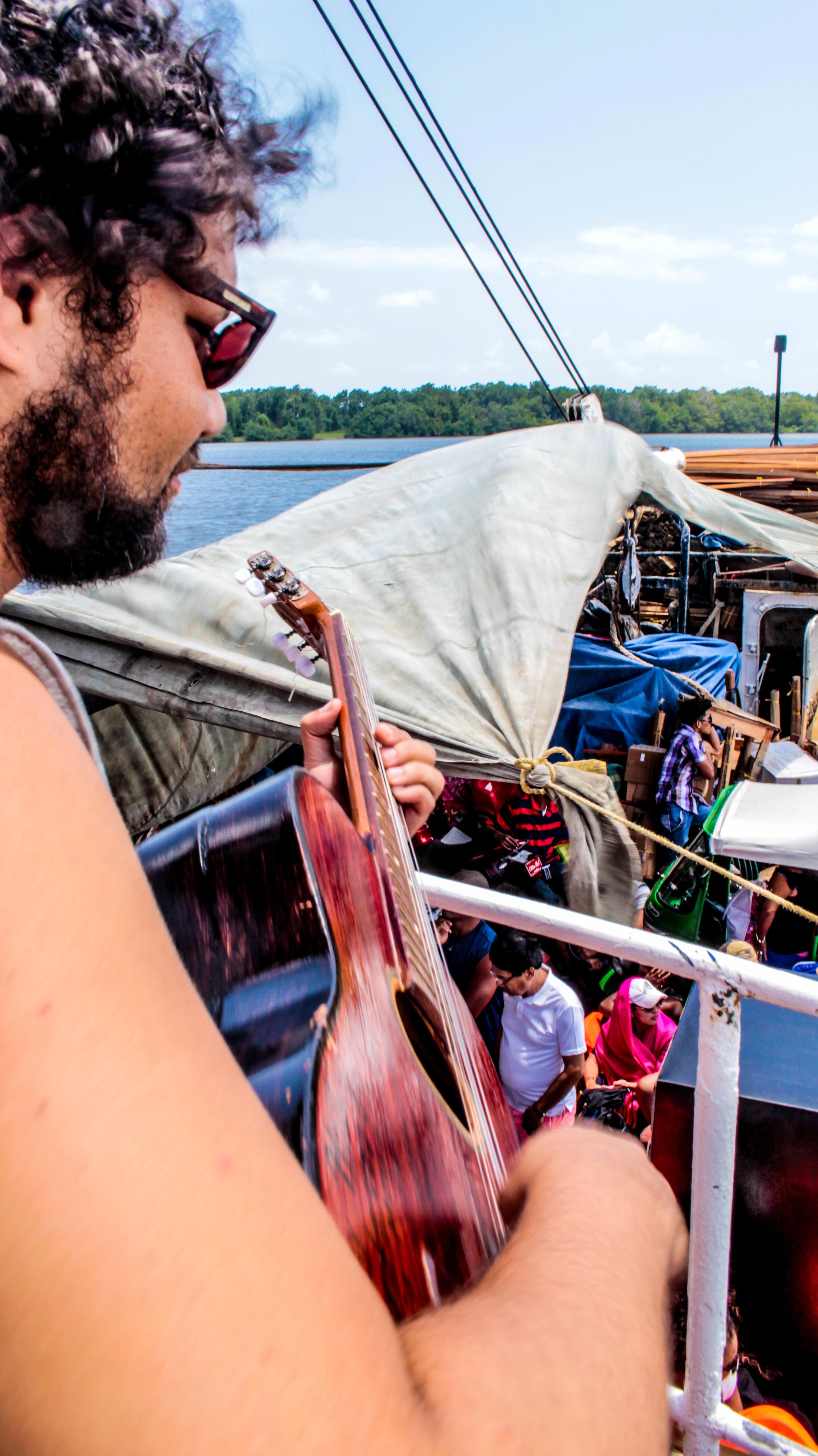 Calypso a bordo