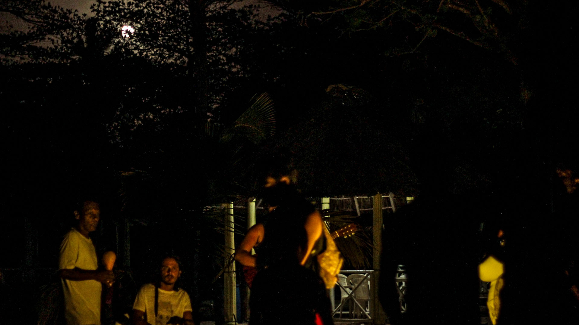Noche de música en la isla
