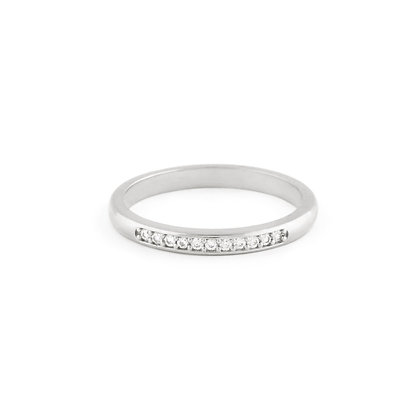 Jessica ring - Clear zirconia