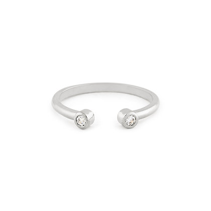 Cindy ring - Clear zirconia