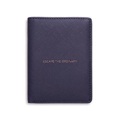 """""""Escape the Ordinary"""" passport cover"""