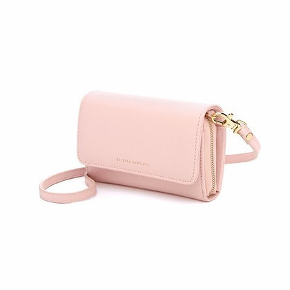 Cross body wallet - Blush