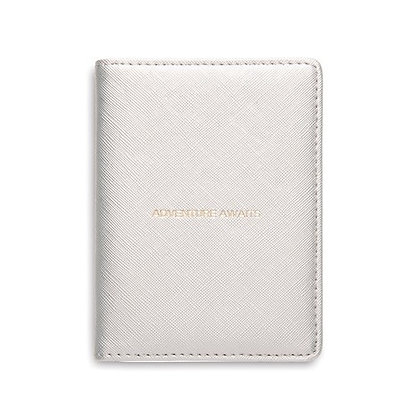 """Adventure Awaits"" passport cover"