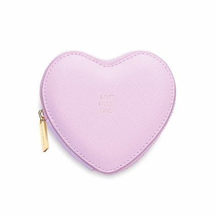 """Live Love Give"" heart coin purse"