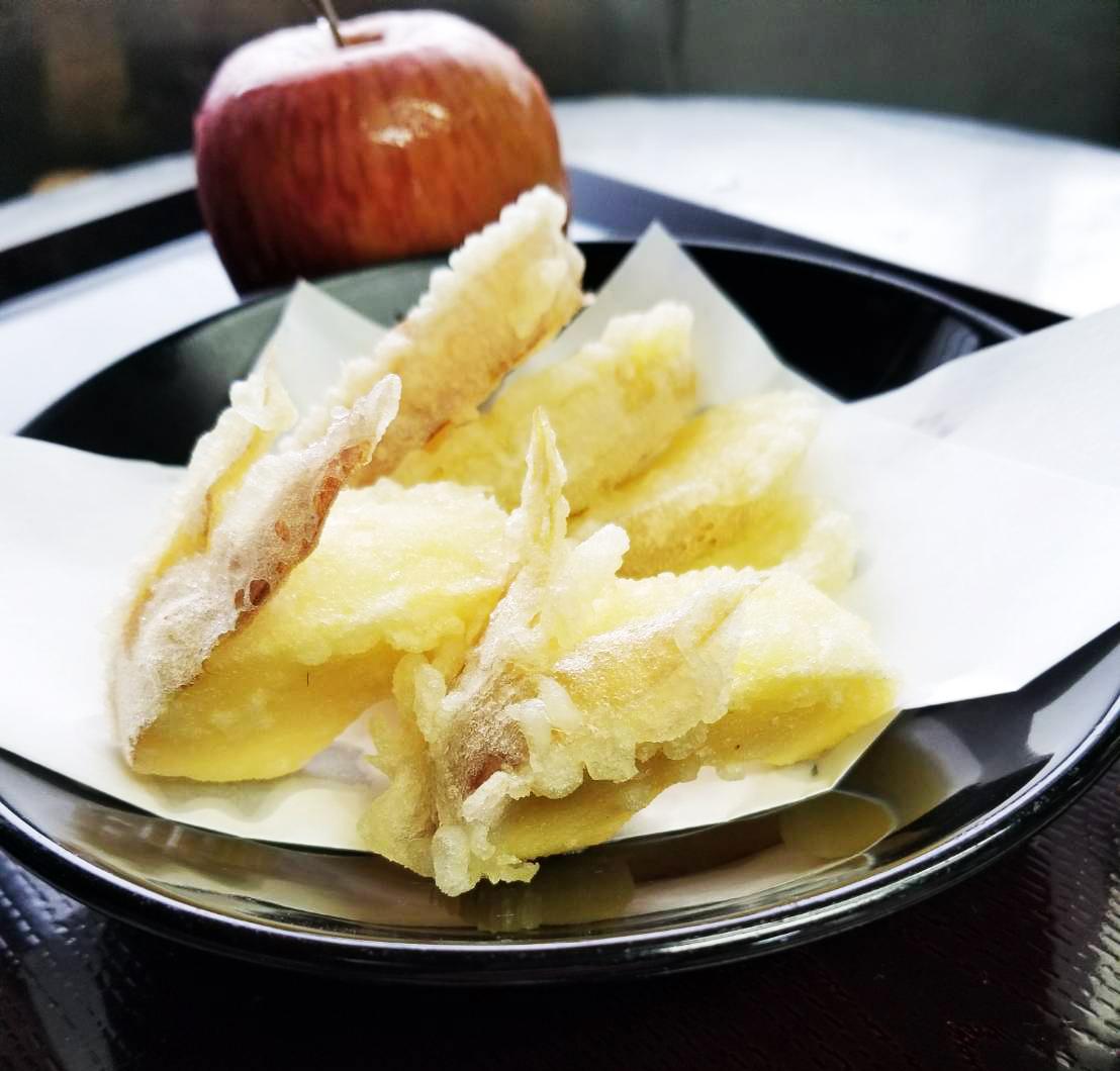 りんご天ぷら