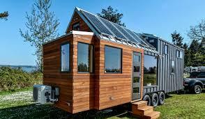 Tiny House Rooftop Solar Panels