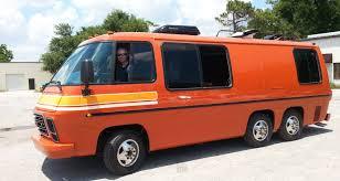 Orange GMC