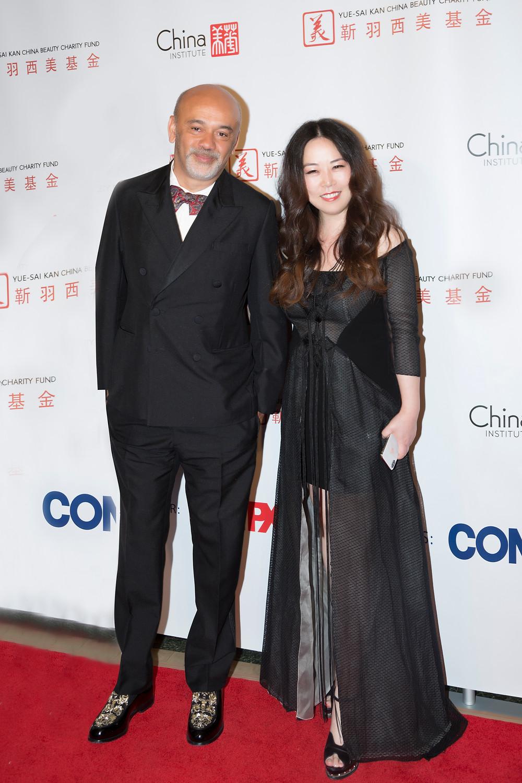 Christian Louboutin and Grace Chen