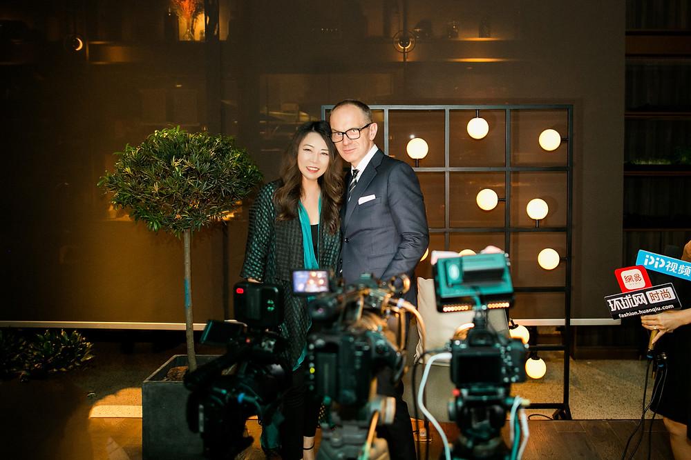 Grace Chen and Simon Collins