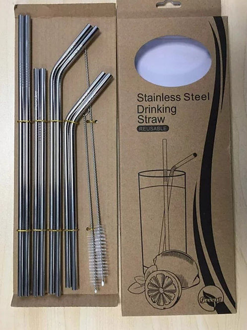 Stainless Steel Straw Variety Pack