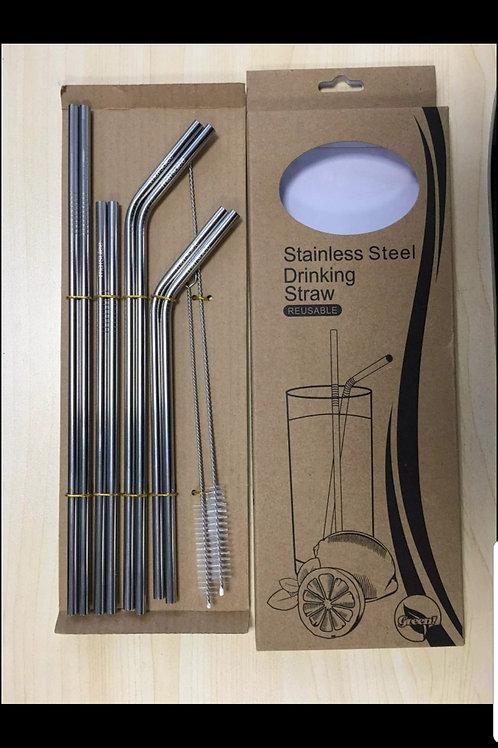 Stainless Steel Straw Variety Set